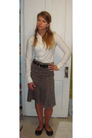 abercrombie and fitch blouse - Creations by Lisa Boutique skirt - vintage belt -
