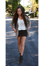 Dark-brown-forever-21-skirt-beige-cardigan-white-sweater-dark-brown-steve-