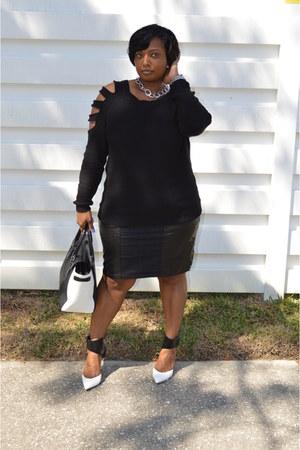 Forever21 sweater - Forever21 skirt