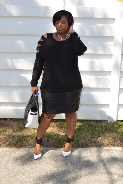 Forever21 sweater - Forever21 skirt