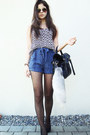 Black-satchel-wholesale-dress-bag-blue-iwearsin-shorts