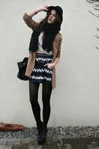 black bag - shorts