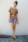 Striped-wholesale-dress-shorts
