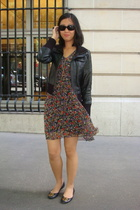 Wisdom dress - Mango - H&M necklace - Chanel sunglasses - tory burch shoes