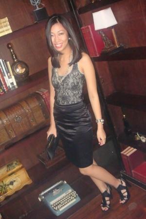 Express top - Topshop skirt - necklace - Tyler - Cartier - Zara