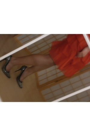 skirt - shoes
