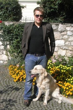 D&G jeans - Review shirt - Scotch jacket - boots - Lamborgini belt - Ray Ban sun