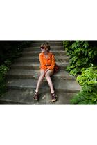 vintage dress - H&M purse - Michael Kors shoes - vintage sunglasses