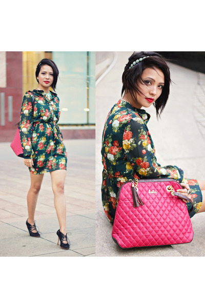 Holii bag - Zara accessories - John Galliano heels