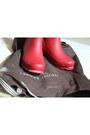 Rain-boots-henri-bendel-boots-beige-vintage-sweater-forever-21-tights
