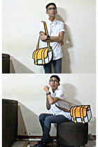 carrot orange 2d bag