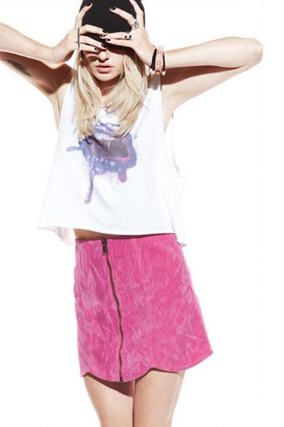 a-line skirt evil twin skirt