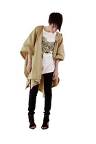SSWTR with Stand Up Comedy jacket - Wood Wood t-shirt - Cheap Monday jeans - sho