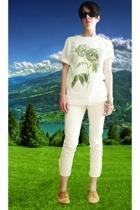 Wood Wood t-shirt - Cheap Monday jeans - delman shoes - Max Studio sunglasses -