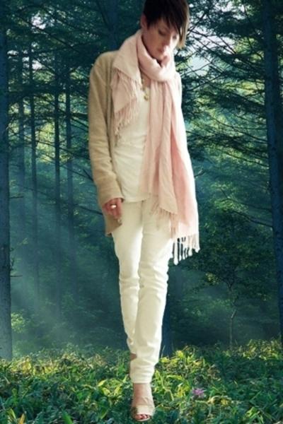 La Redoute sweater - Clu top - Cheap Monday jeans - loeffler randall shoes - gol