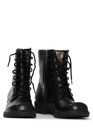 black Threadsencecom boots