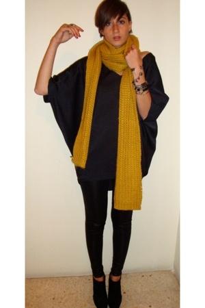 Zara scarf - Zara top -