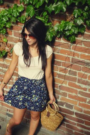 H&M shirt - skort Macys shorts