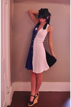 button down bluepea dress