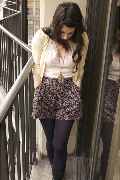 Macys shorts - Forever 21 cardigan