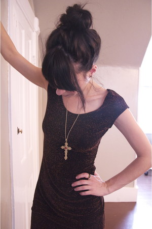 fitted vintage dress