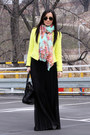 Yellow-zara-jacket-black-asos-skirt