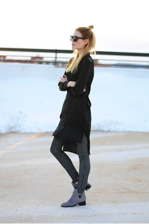 tunic Cheap Monday shirt - Jeffrey Campbell boots - 2nd One pants