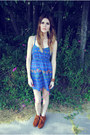 Minnetonka Moccasin shoes - blue rain dress