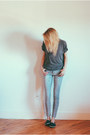 Patterned-kut-from-the-kloth-jeans-ocean-minded-flats-zara-t-shirt