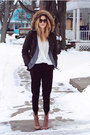 Aldo-shoes-shoes-fur-hood-kenneth-cole-coat-chiffon-papaya-clothing-blouse