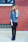 H-m-sweatshirt-steve-madden-boots-sequins-francescas-collections-skirt