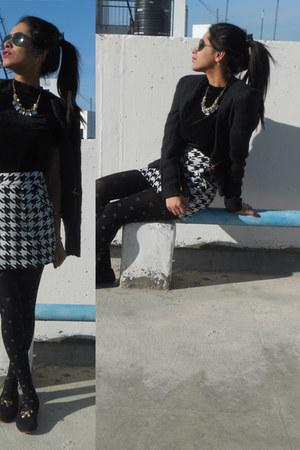 stalkbuylove skirt - romwe blazer