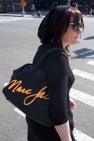 black Marc Jacobs sunglasses - black Marc by Marc Jacobs purse