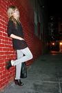 Purple-vintage-blazer-black-bdg-t-shirt-gray-makers-of-true-originals-jeans-