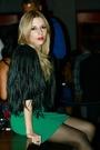 Green-h-m-via-thrift-town-dress-black-h-m-cardigan-black-h-m-purse