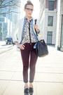 H-m-blazer-bedazzle-mia-shoes-rvca-shirt-zara-blouse