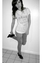 t-shirt - Cheap Monday jeans - Michael Kors shoes
