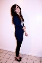H&M sweater - top - American Apparel leggings - Madden Girl shoes