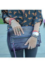 Deep-purple-rebecca-minkoff-purse-navy-jbrand-jeans
