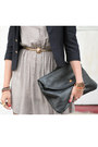 Navy-vintage-blazer-black-jeffrey-campbell-boots-charcoal-gray-dahlia-dress