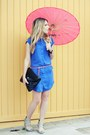 Blue-pins-needles-dress-black-marc-by-marc-jacobs-bag-salmon-patent-leathe