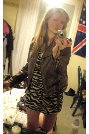 Topshop jacket - H&M jacket - Zara shoes