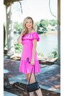 06f102f64bb80 ... Hot-pink-pink-dress-rebecca-taylor-dress-tory- ...