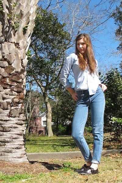 Levis jeans - Polo Ralph Lauren shirt - etienne aigner shoes