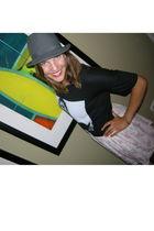 Zara shirt - Zara skirt - Target hat
