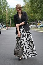 JCP jacket - kohls dress - JCP shoes - Ross bag