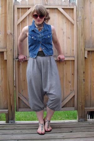 pants - vest - belt - shoes