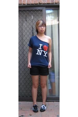 shirt - Valley Girl shorts - Onizuka Tiger shoes