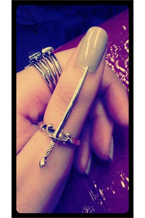 sword Noir Jewelry ring