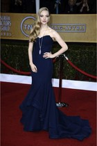 navy Zac Posen dress